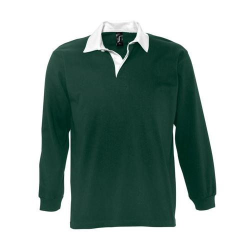 Polo rugby uni pack Club vert foret