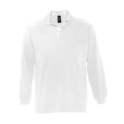 Polo personnalisable rugby uni pack Club blanc