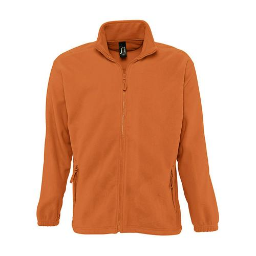 VESTE POLAIRE ZIPPEE EXPERT ORANGE