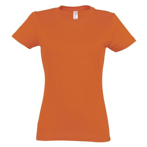 T-shirt Active 190 g femme orange