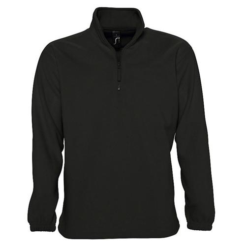 SWEAT 1/2 ZIP STANDARD NOIR POLAIRE EXPERT