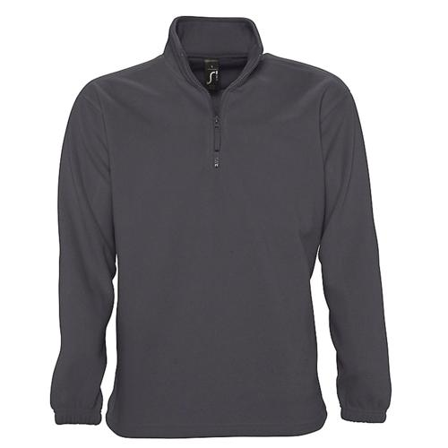 SWEAT 1/2 ZIP STANDARD GRIS POLAIRE EXPERT