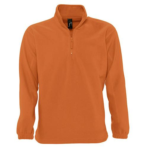 SWEAT 1/2 ZIP STANDARD ORANGE POLAIRE EXPERT