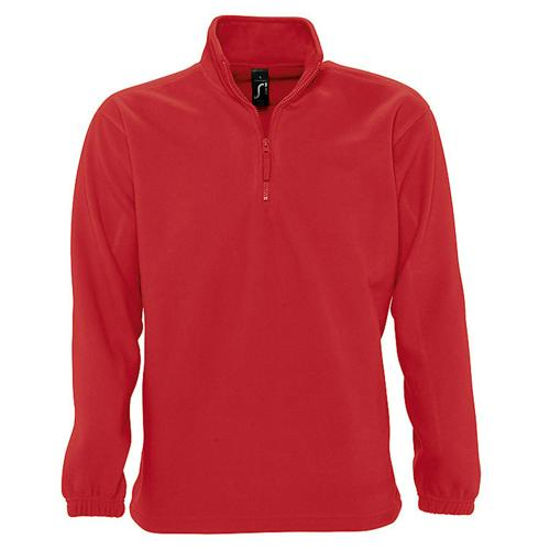 SWEAT 1/2 ZIP STANDARD ROUGE POLAIRE EXPERT