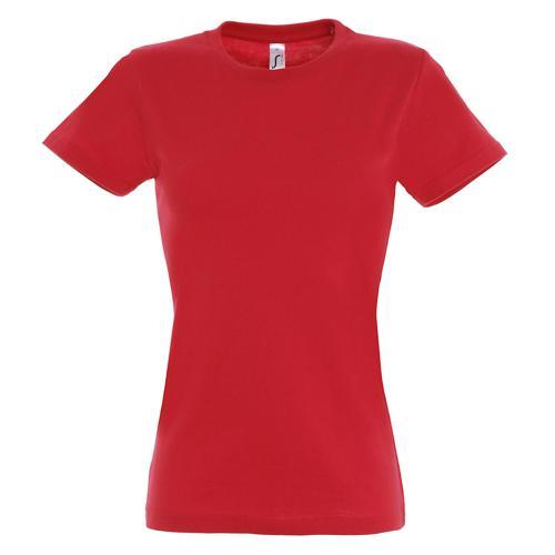 T-shirt Active 190 g femme rouge