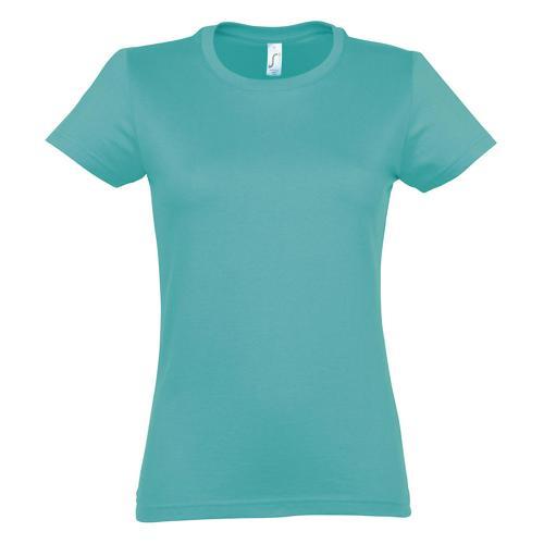 T-shirt Active 190 g femme bleu atoll
