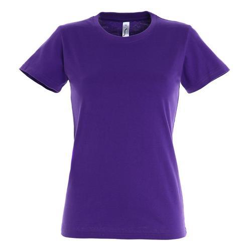 T-shirt Active 190 g femme violet foncé