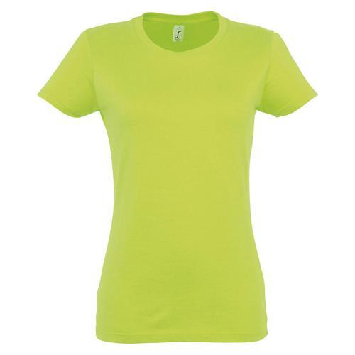 T-shirt Active 190 g femme vert pomme