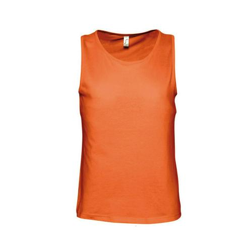 Débardeur personnalisable masculin Classic orange