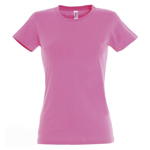T-shirt Active 190 g femme rose orchidée