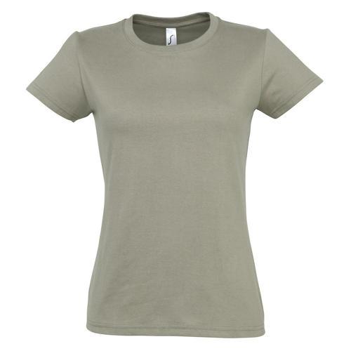 T-shirt Active 190 g femme kaki