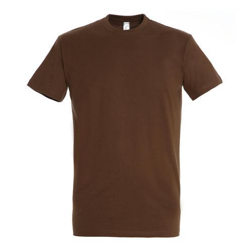 T-shirt active 190g adulte chocolat