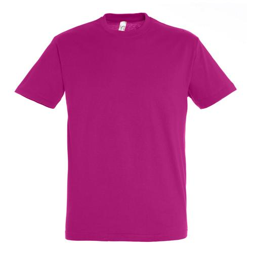 T-shirt active 190g adulte rose fushia