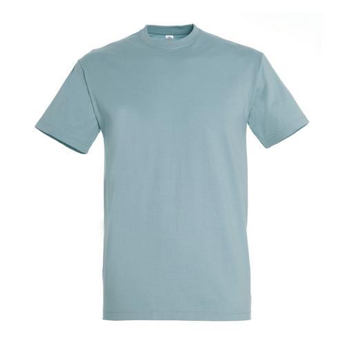T-shirt active adulte 190g bleu glacier