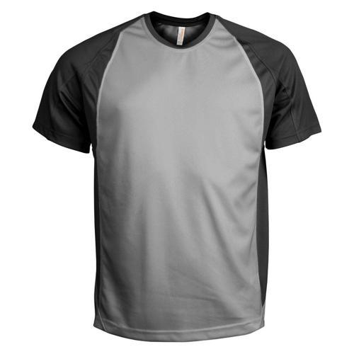 T-Shirt Bicolore PES Gris/Noir