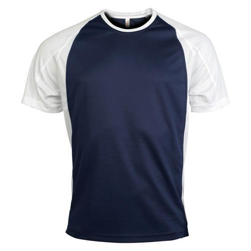 T-Shirt Bicolore PES Marine/Blanc
