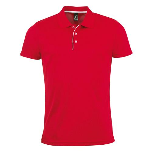 POLO HOMME ROUGE MULTITECH PES