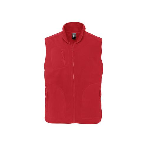 BODYWARMER POLAIRE HD PLUS EXPERT ROUGE