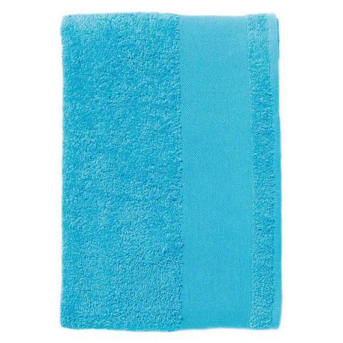 Serviette coton éponge turquoise 50 x 100 cm