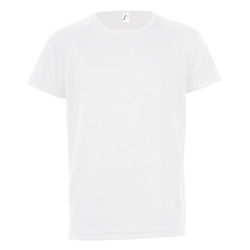 Tee-shirt technic PES enfant blanc