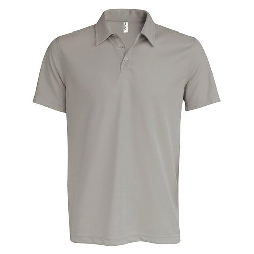 POLO USUAL PES TECH GRIS ARGENT