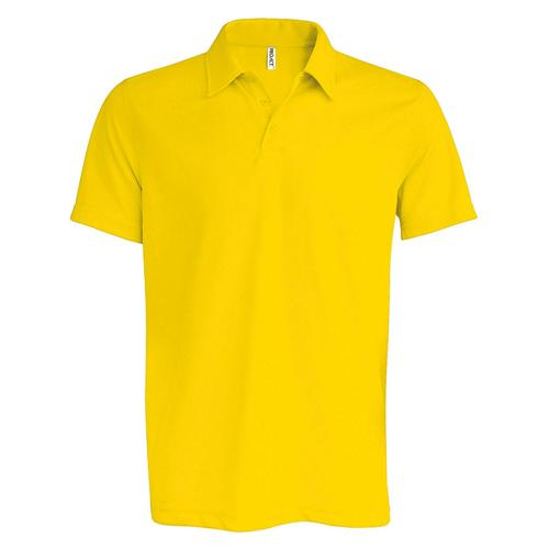 POLO USUAL PES TECH JAUNE FLUO