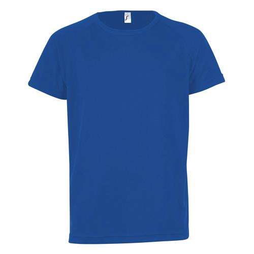 Tee-shirt technic PES bleu royal