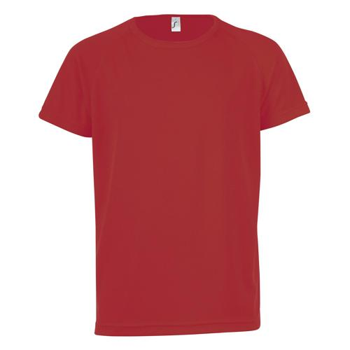 Tee-shirt technic PES enfant rouge