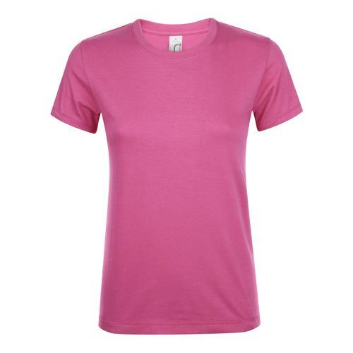 TEE-SHIRT ROSE ORCHIDEE FEMININ CLASSIC 150g
