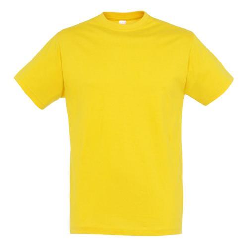 Tee-shirt classic adulte 150g jaune