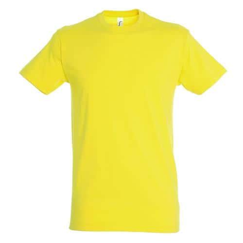 Tee-shirt classic adulte 150g citron