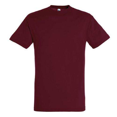 Tee-shirt personnalisable classic adulte 150g bordeaux