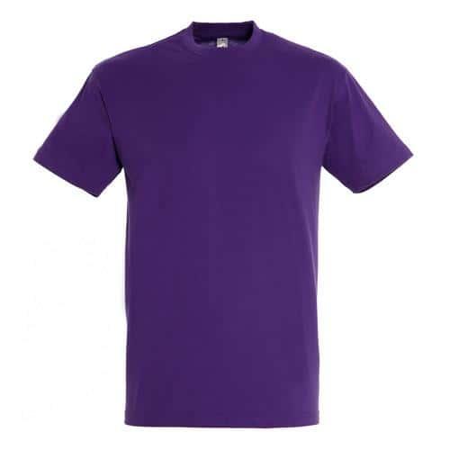 Tee-shirt classic adulte 150g violet foncé