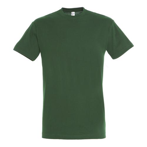 Tee-shirt personnalisable classic 150g adulte vert bouteille