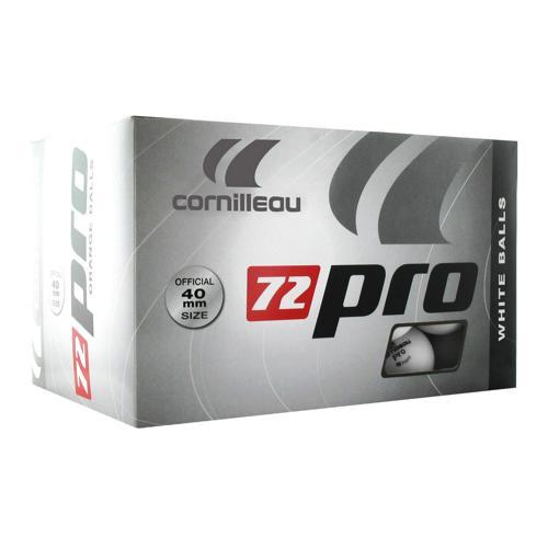 Boite de 72 balles de tennis de table Cornilleau Pro