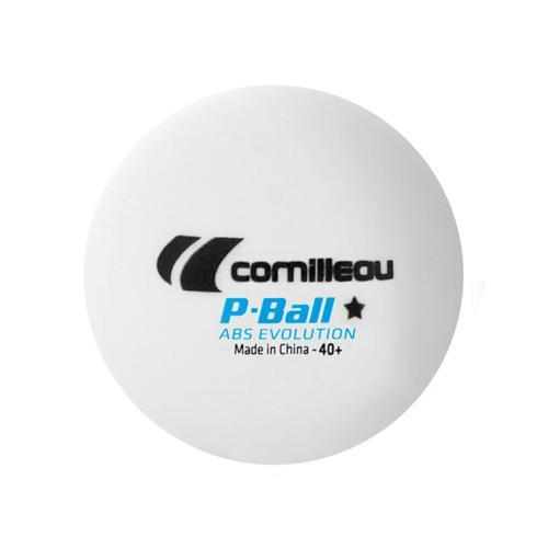 Boîte 72 balles tennis de table - Cornilleau - P-ball evolution blanches