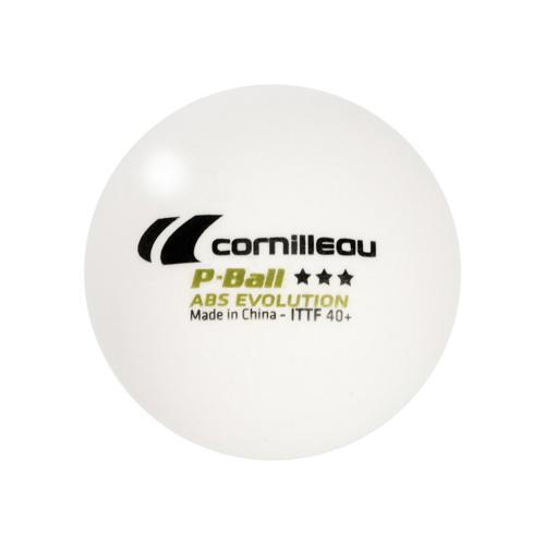 Lot 3 balles tennis de table Cornilleau - P-ball evolution 40+