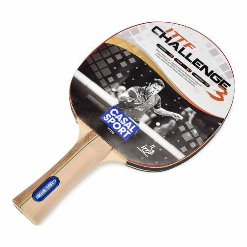 Raquette tennis de table Casal Sport - Challenge 3 ITTF<br/>