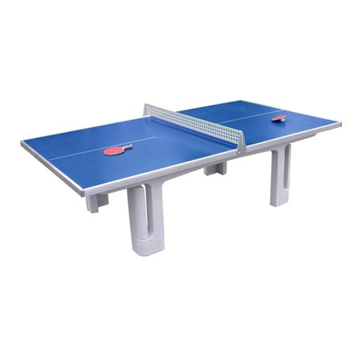 Table ping pong en beton polymere solido p30 maillith - Table ping pong exterieur beton ...