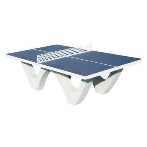 Table de ping pong en béton
