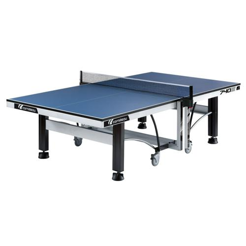 Table de tennis de table Cornilleau 740 compétition bleue livrée montée