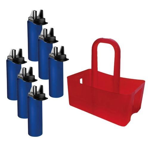 Ensemble bottle crate hygiénique Casal Sport