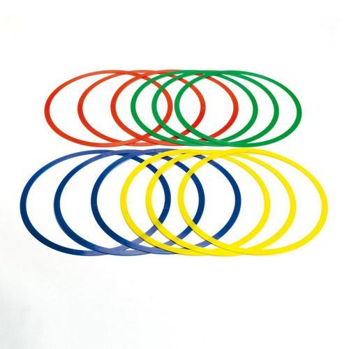 12 CERCEAUX EXTRA-PLATS DIAMETRE 44,5 cm