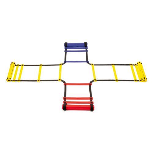 Échelle d'entrainement Croix Longueur 4 x 4 m Largeur 47 cm