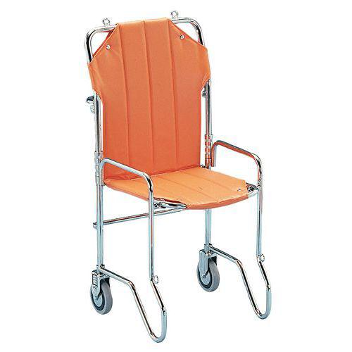 Chaise portoir pliable