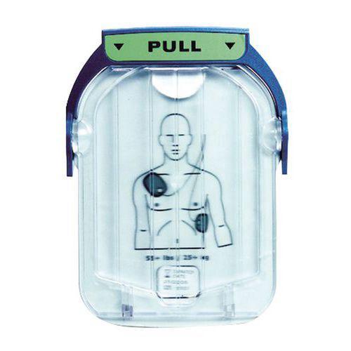Électrodes de remplacement HeartStart HS1