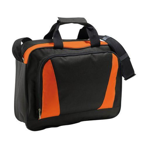 Sacoche porte-documents Expert orange noir