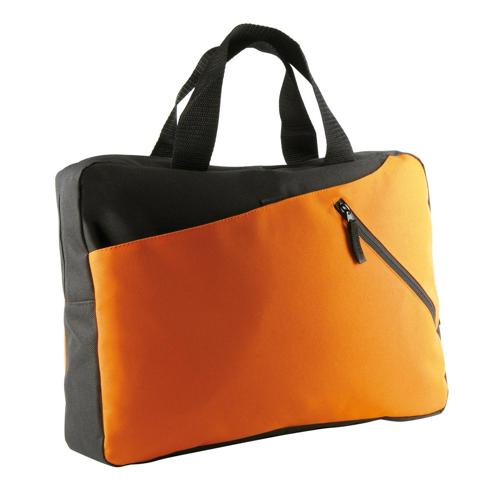 Sacoche bicolore CASAL SPORT Eco Orange/Noir