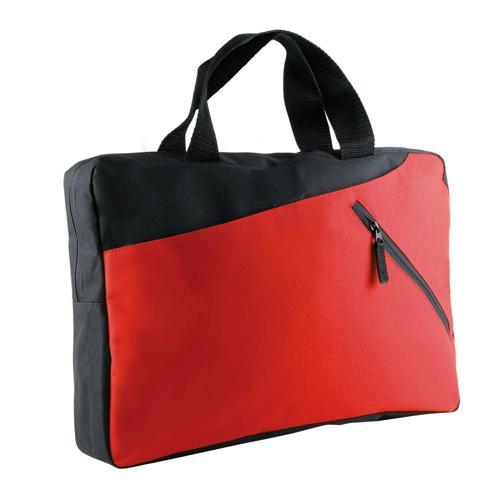 Sacoche porte-documents bicolore CASAL SPORT Eco Rouge