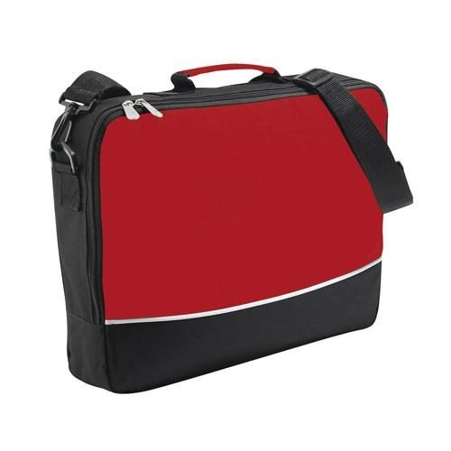 Sacoche porte-documents bicolore CASAL SPORT Plus Rouge
